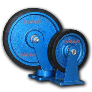 Metalni točkovi povećane nosivosti sa gumom